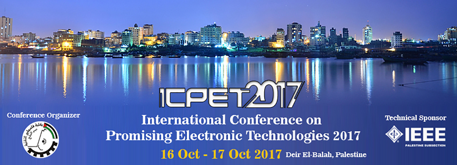 International Conference on Promising Electronic Technologies 2017